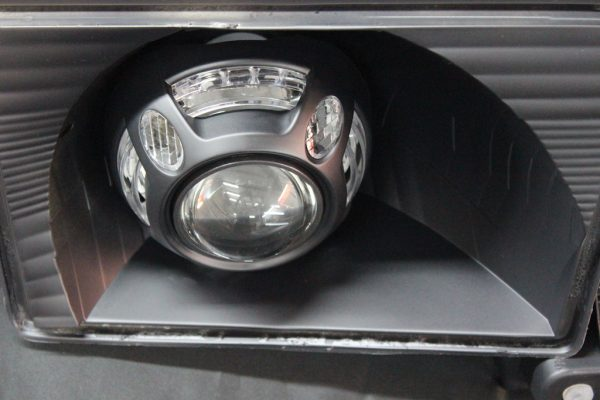 Toyota 4Runner Black LED Projector Headlights 96-02