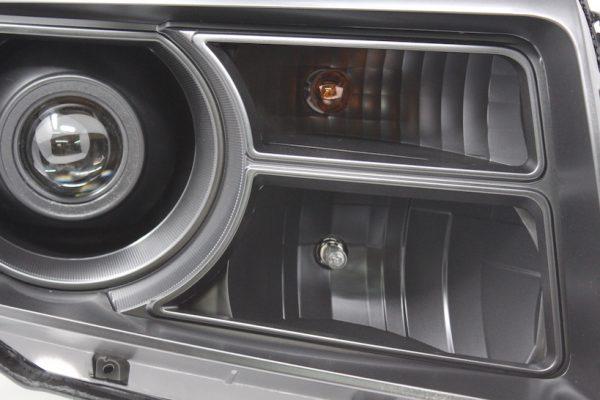 12-15 Honda Pilot Black Projector Headlights