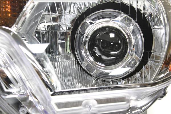 12-15 Toyota Tacoma Custom LED Halo Projector Headlights