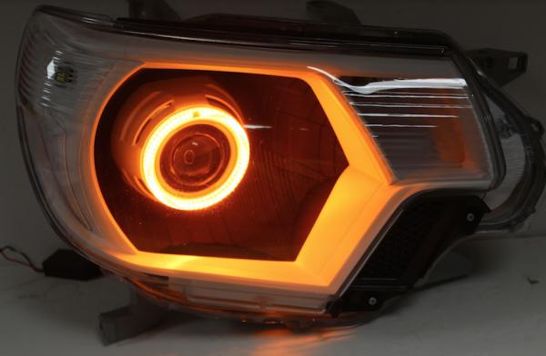 12-15 Toyota Tacoma LED Halo Headlights