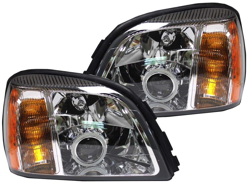 2000-2005 Cadillac Deville Halo Customized Headlights - HID Retrofit