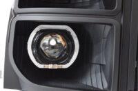 f250 f350 black halo projector