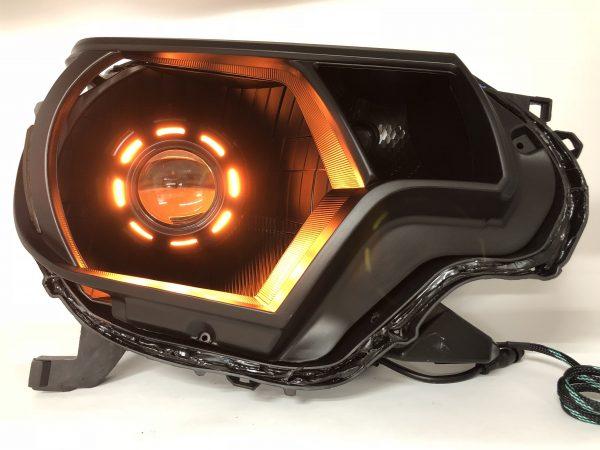 2012-2015 Toyota Tacoma RGBW Led Halo Headlights