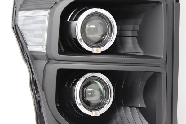 2011-2016 Ford F-350 Superduty Black Projector Headlights