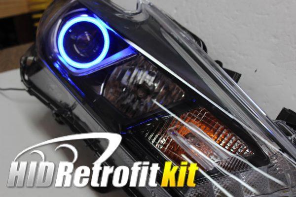 nissan maxima custom headlights