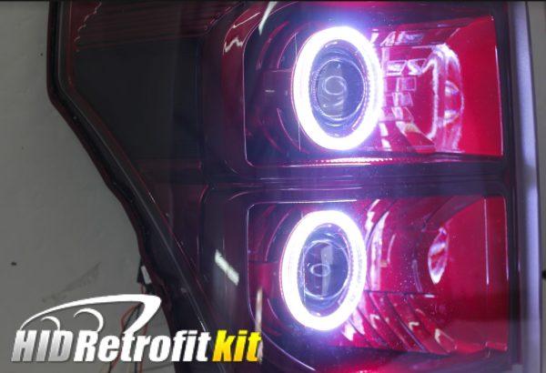 2013-2016 ford f250 f350 f450 f550 super duty custom retrofit hid bi-xenon headlights