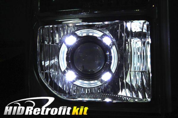 2013 2014 2015 2016 Ford F250 F350 F450 F550 Custom HID Bi-xenon Retrofit Headlights LED Lights