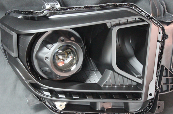 2014-2017 Toyota Tundra Retrofit Black Headlights