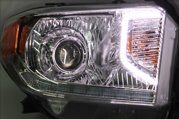 2014-2018 Toyota Tundra Switchback LED Projector Headlights
