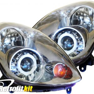 2005-2006 Infiniti G35 Sedan Custom Bi-Xenon HID Retrofit Headlights LED Lights