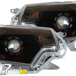 2012-2015 Toyota Tacoma Custom bi-xenon hid retrofit hid headlights rgb led lights