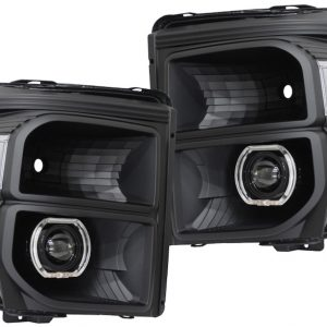 f250 f350 black halo projector