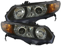 06-11 Honda Civic Coupe HID Retrofit Projector Headlights