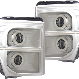 2011-2016 Ford F-250 Superduty White Headlights