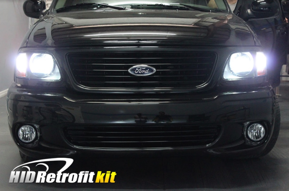 2018 F150 Led Headlights Ford F 150 Custom Projector Hidretrofitkit