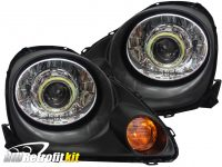 2000-2003 toyota mr2 mr-2 spyder retrofit projector headlights