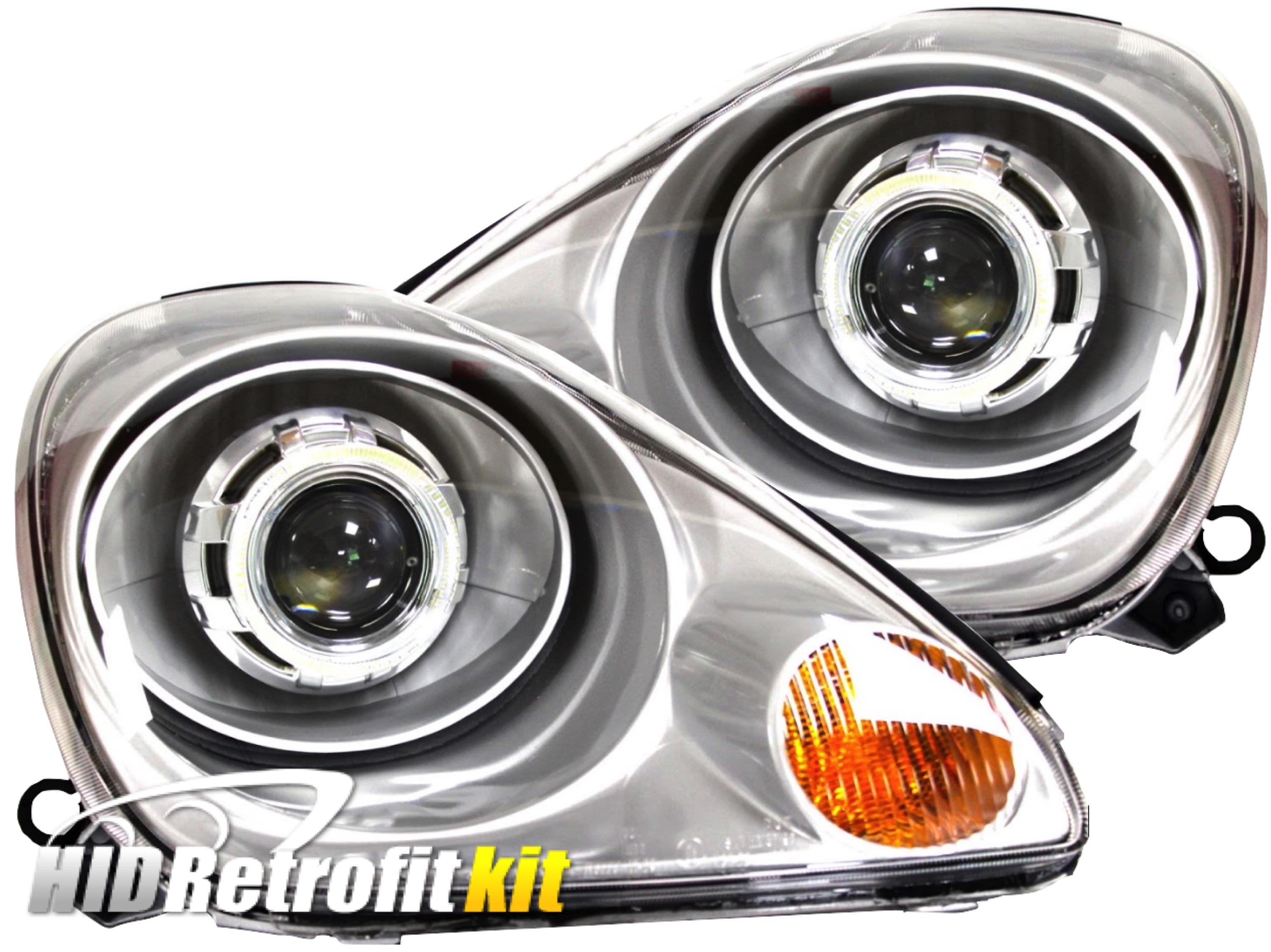 2000 2003 Toyota MR2 Spyder Bi Xenon HID Custom Projector