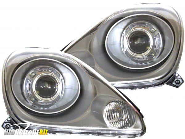 2000-2002 toyota mr2 mr-2 spyder retrofit projector headlights