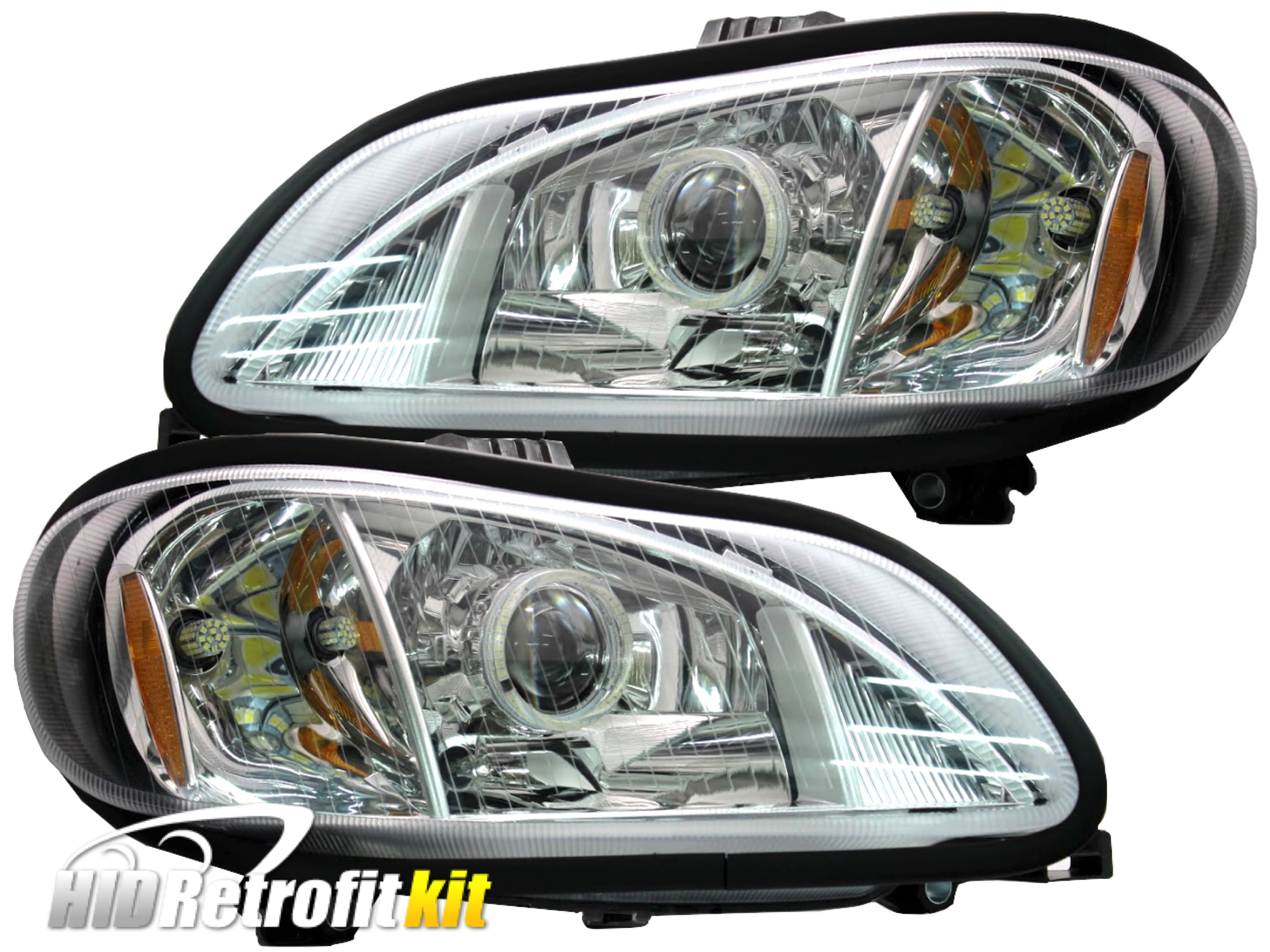 Freightliner Fld Projector Headlights : Freightliner m business class projector led