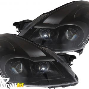 2007-2009 nissan altima sedan retrofit hid projector headlights