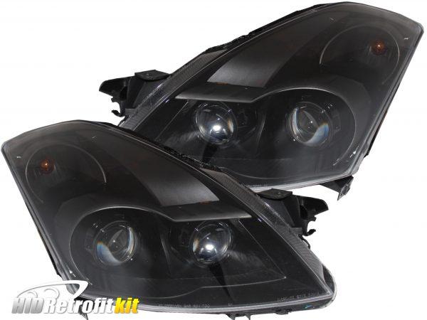 2007-2009 nissan altima sedan retrofit hid projector headlights