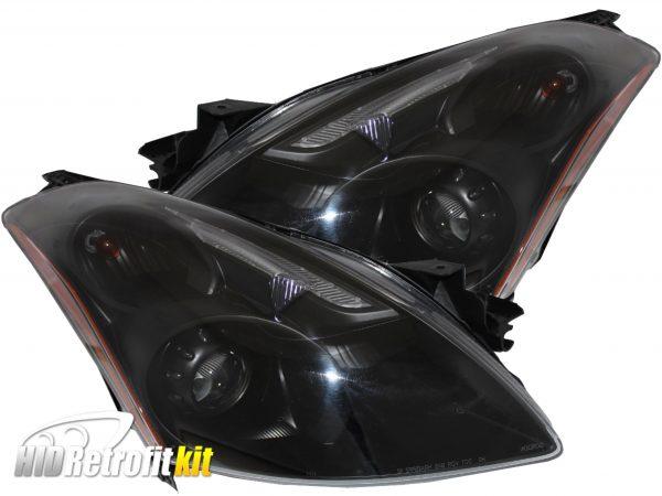 2010 2011 2012 nissan altima sedan custom retrofit hid projector headlights