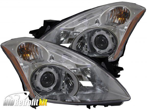 2010-2012 nissan altima sedan hid projector headlights