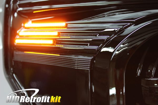 11-16 Ford F250 Superduty Led Strip Projector Headlights
