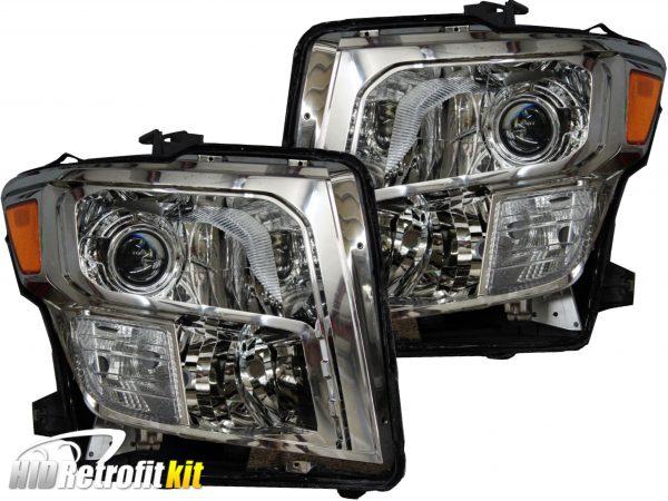 16-18 Nissan Titan Projector Headlights