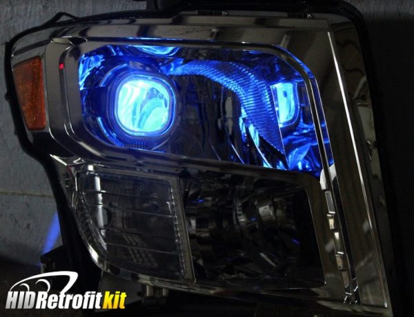 16-18 Nissan Titan LED Projector Headlights