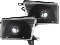 1996-2002 Toyota 4Runner Black Headlights HID Bi-Xenon Retrofit Kit