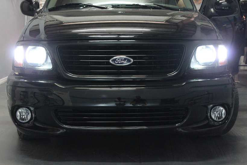 97 03 Ford F 150 Custom Bi Xenon Hid Headlights