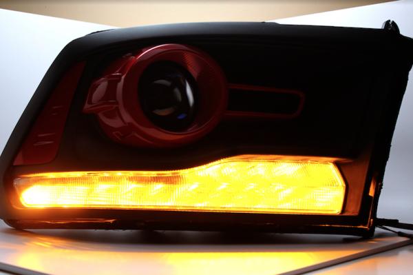 2013-2017 RAM 1500 Custom LED Headlights