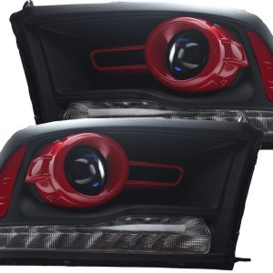13-16 Dodge RAM 1500 HID Retrofit Headlights
