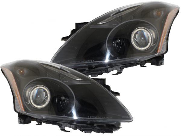 2010-2012 Nissan Altima Sedan Halo Projector Headlights