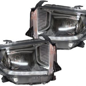 Toyota Tundra Black LED Projector Headlights 2014-2018