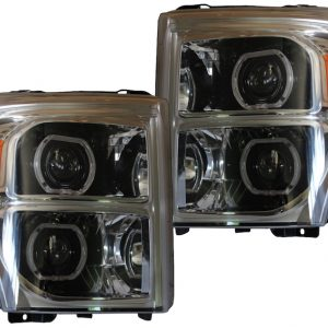 2011-2016 Ford F-250 F-350 Quad Bi-Xenon Retrofit LED Headlights