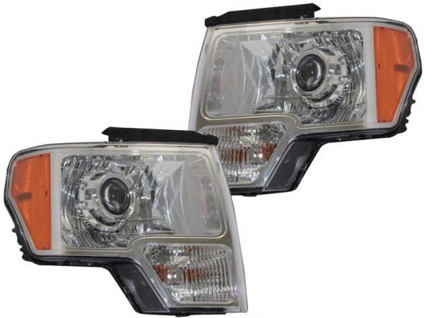 2009-2014 Ford F-150 HID Custom Bi-Xenon Projector Headlights