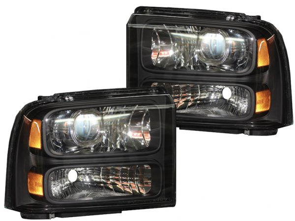 2005-2007 Ford F250 Harley Davidson Retrofit Projector Headlights
