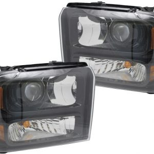05-07 Ford F250 F350 Harley Davidson Bi-Xenon Projector Headlights