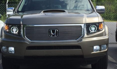 LED Honda Ridgeline Custom Projector Headlights