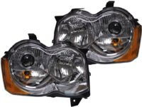 jeep grand cherokee custom headlights
