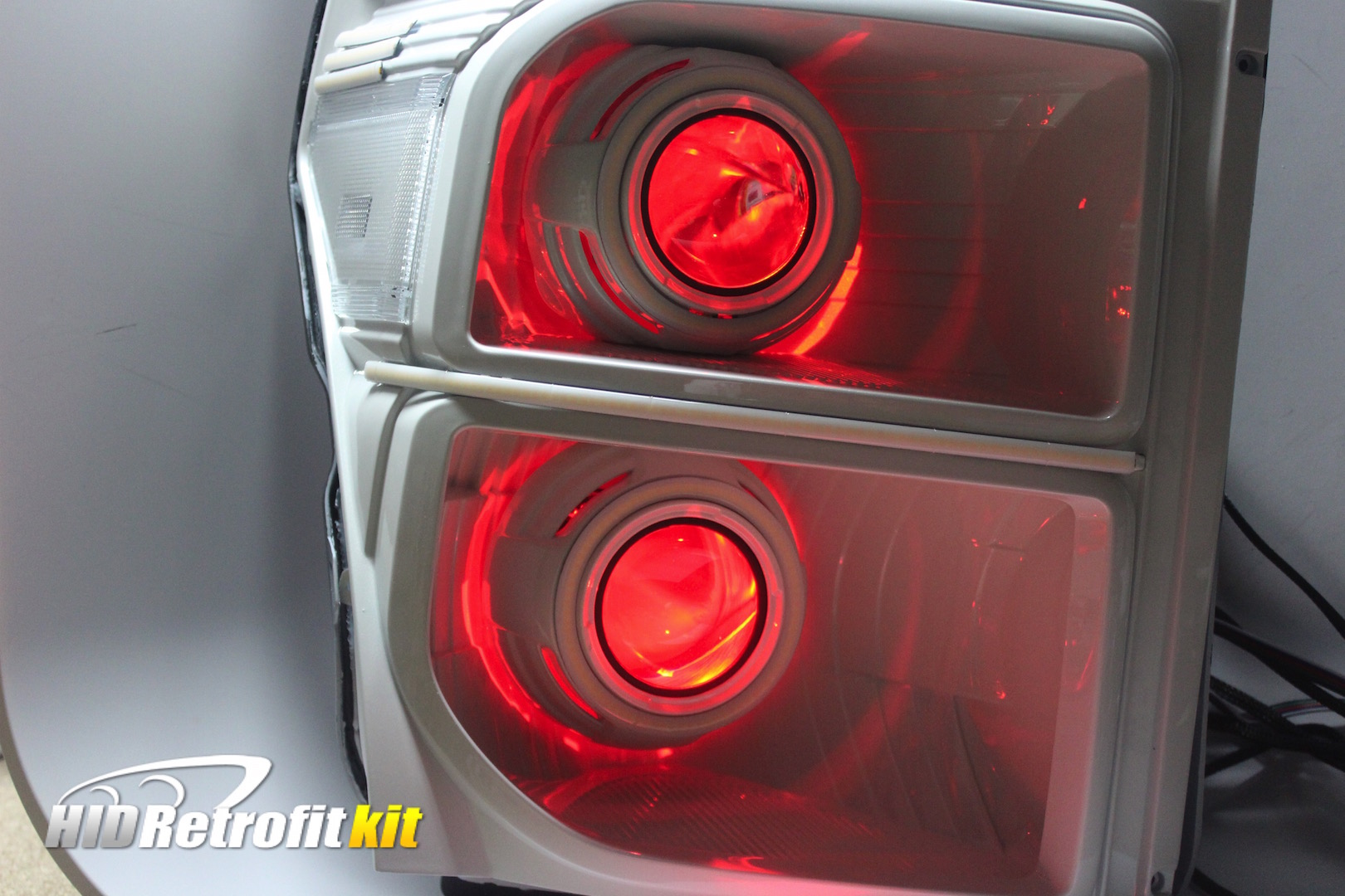 2011-2016 Ford F350 Custom Projector Headlights