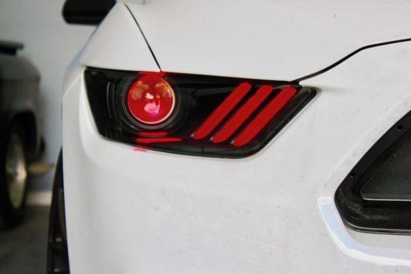 15-17 Ford Mustang S550 LED Custom Retrofit Headlights