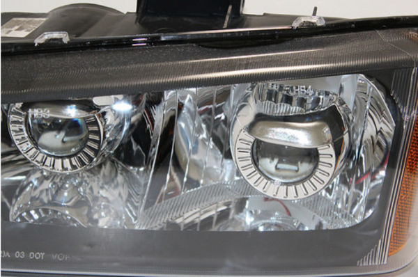2003-2006 Chevrolet Silverado Retrofit HID Projector Headlights