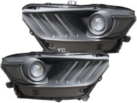 15-17 Ford Mustang S550 LED Custom Retrofit Headlights
