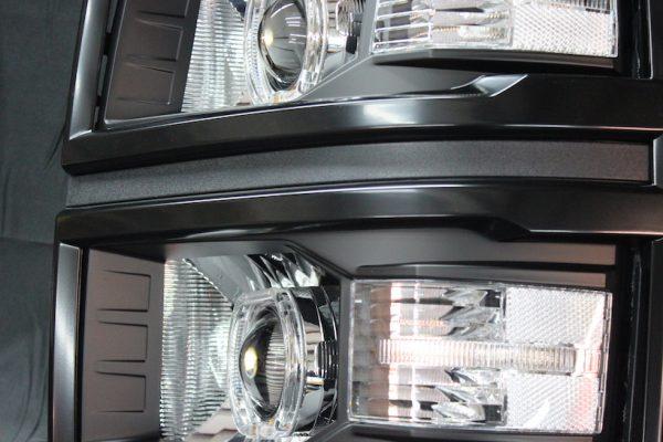 14-15 Chevrolet Silverado LED Projector Headlights