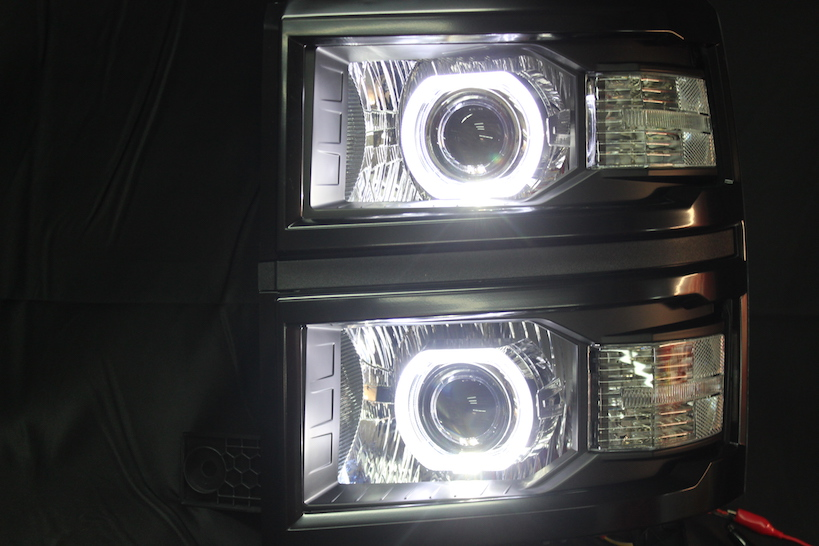 2014 Silverado Headlights 14 15 Chevrolet Silverado Led