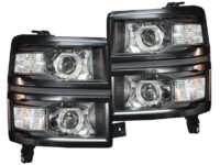 14-15 Chevrolet Silverado LED Projector Headlights