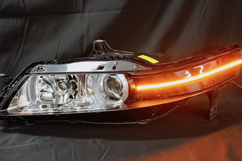 Acura TL Super Bright Switchback LED Strip Headlight - Acura tl headlights